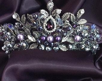 Purple tiara