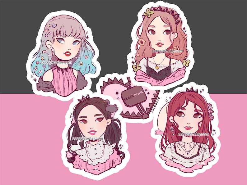 Full Pack - BLACKPINK KPOP stickers - Kill This Love - Lisa, Jisoo, Jennie,  Rosé