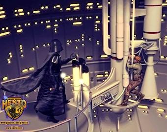 Father Son Luke Vader Diorama