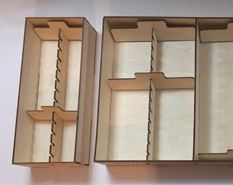 Storage Organization Kit for Kingdom Death: Monster Board Game w/ Miniature Storage
