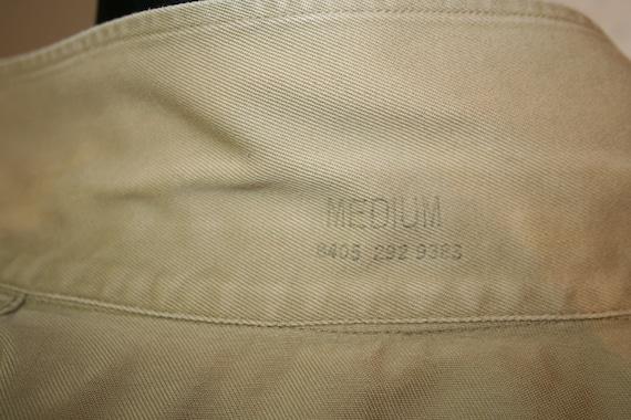 Army Shirt, U.S.A. Vintage Army Khaki Short-Sleev… - image 8