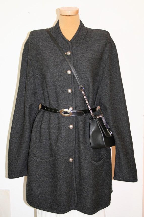 Austrian Vintage Geiger of Austria Wool Cardigan/S