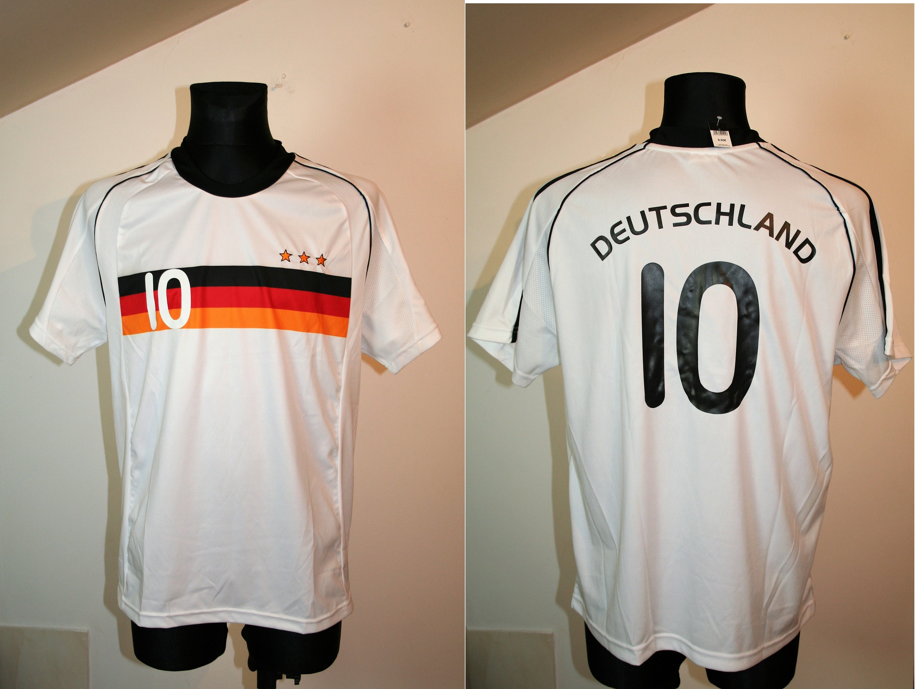 Football Shirt Germany Deutschland Size: M New Unisex Tshirt