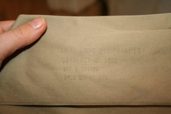 Army Shirt, U.S.A. Vintage Army Khaki Short-Sleev… - image 9