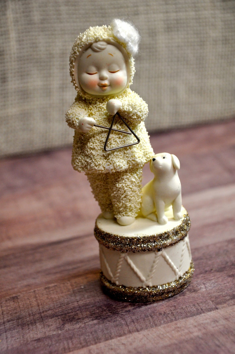 Dept 56 Snowbabies Dream Merry Music Makers TRIANGLE New 2011 #4024882 No Box