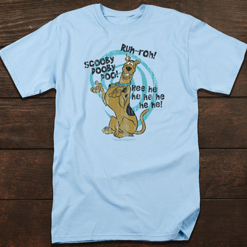 4659ab2d Scooby Doo T-Shirt with Sayings Cartoon TV Series Shirt for | Etsy