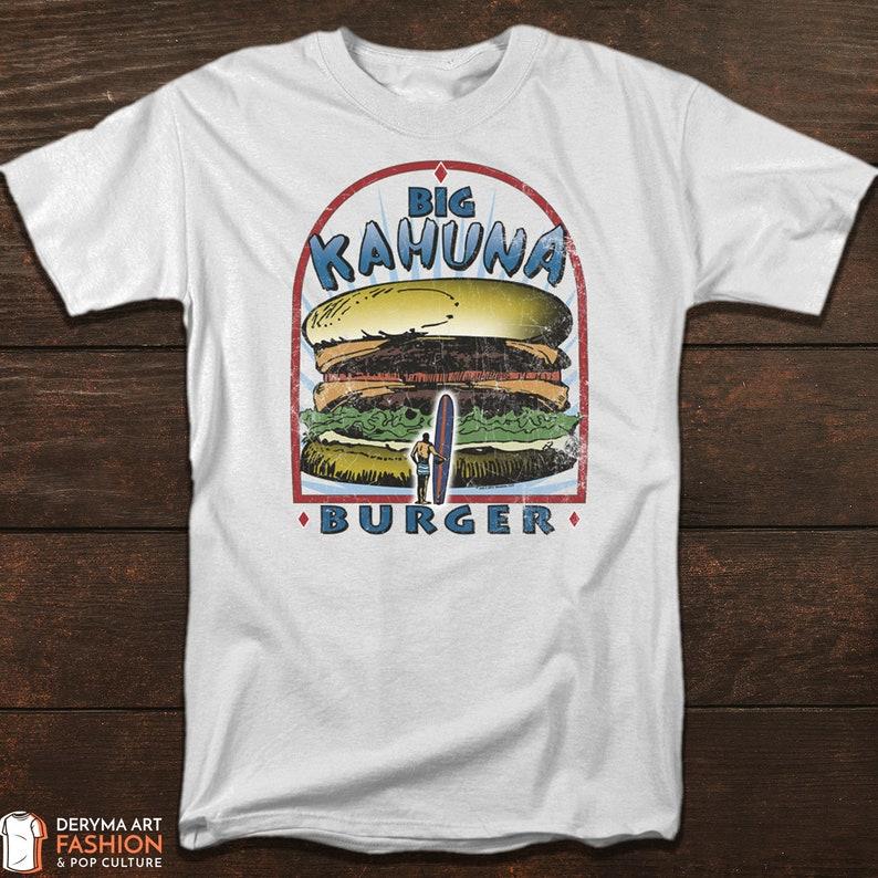 a57cfb929 Pulp Fiction T-Shirt Big Kahuna Burger Tee Classic Movie | Etsy