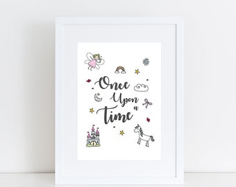 Once Upon a Time Print