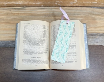 Floral Bookmark, Handmade Bookmarks, Book Club, Book Lovers Gift