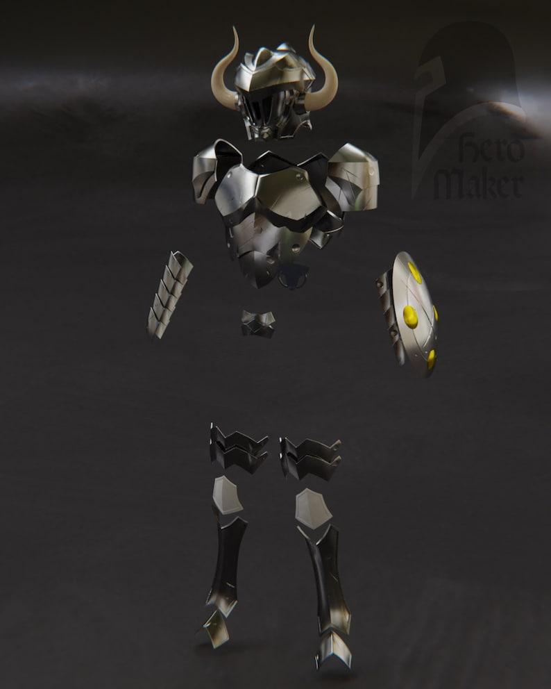 Goblin Slayer Full armor and sword for 3D print Digital file for 3d print