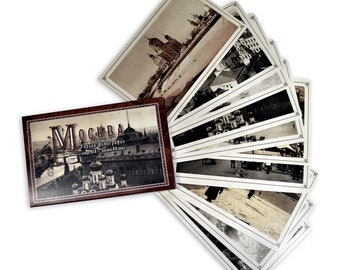 """A set of postcards """"Moscow: Rare photographs of the late XIX - early XX century"""""""
