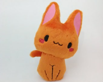 Orange Cat Plush Etsy