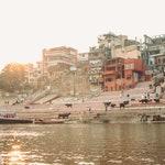 Postal escrita a mano desde India | varanasi