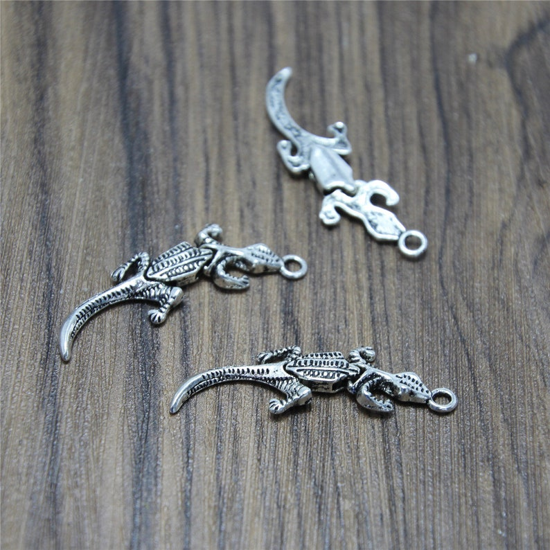 Lot of 10Pcs Silver Double Dolphin Charms Pendant Jewelry Making Findings 3D