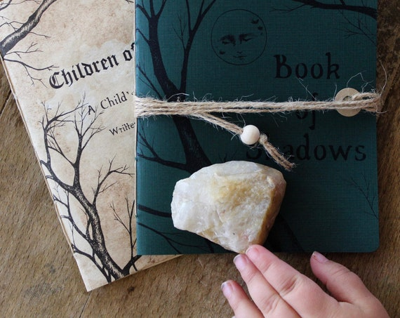 Children of the Wood: a Child's Book of Spells and accompanying Book of Shadows