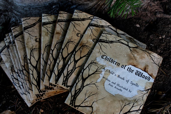 Wholesale 12 pack of Books. Children of the Wood: a Child's Book of Spells