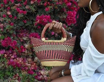 Handmade Woven Basket  (Tote)