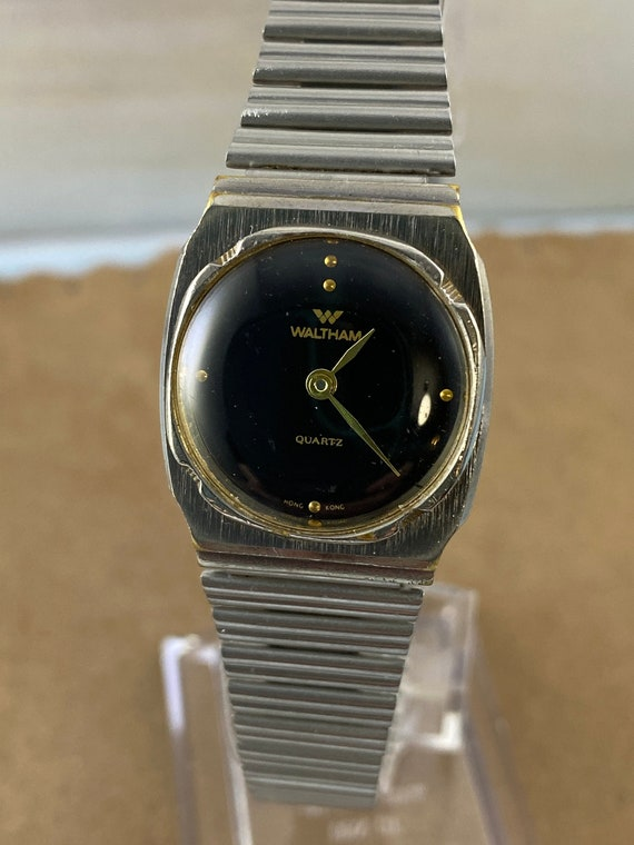 Vintage Waltham Battery Watch with Side Function B