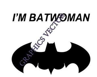 photo relating to Batgirl Logo Printable referred to as Batgirl svg Etsy