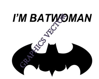 photo regarding Batgirl Logo Printable known as Batgirl svg Etsy