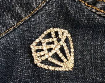 Diamonds in the sky Brooch - Limited Quantities Available
