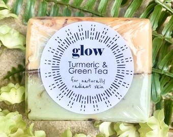 GLOW // Turmeric & Green Tea Soap for Naturally Radiant Skin