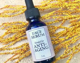 Face Serum // Anti-Aging // 100% Natural and Vegan