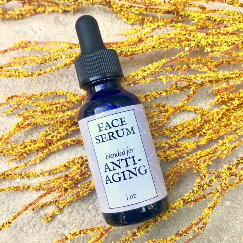 Face Serum // Anti-Aging // 100% Natural and Vegan image 0