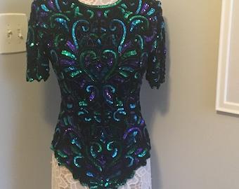Vintage Glam Sequins