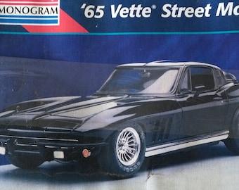 1965 Corvette Street Machine Model Kit, Revell-Monogram.