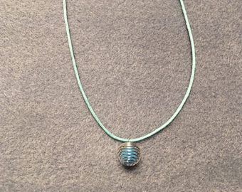 Wool Essential Oil Diffuser Necklace