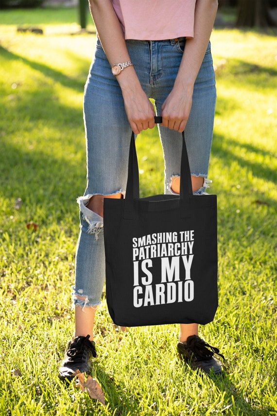 Feminist Shopping Bag Gift for Her Smash the Patriarchy Tote Bag Eco Bag