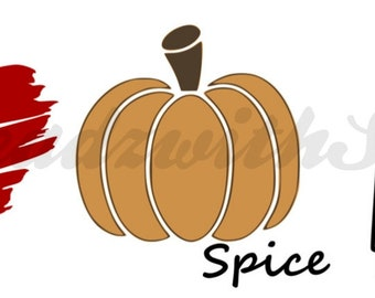 Dunkin Svg Pumpkin Spice Svg Heartys Svg Coffee Svg Halloween Etsy