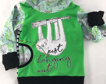 3T-6 Grow with me sweater