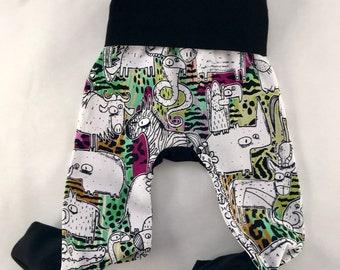 Wild animals Maxaloones , grow with me pants,
