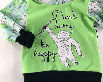 12m-3T Grow with me sweater