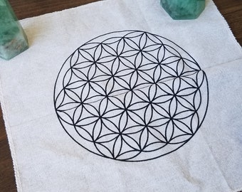 Flower of Life Crystal Grid 12 x 12
