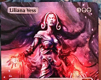 11 X Classic Cards edh full art altered full art land pack altered art lands Force of Will Liliana Vess Counterspell Sol Ring Magic Mtg Alte