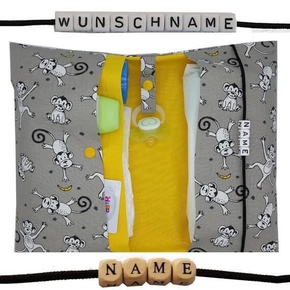 XXL Windeltasche to go mit Name Wickeltasche Junge Mädchen Geburt Taufe DaWanda