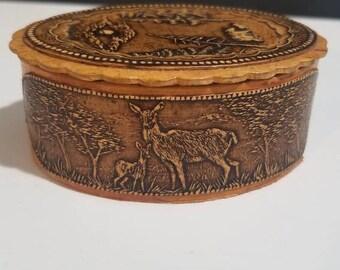 """Natural Birch Bark """"Beresta"""" Box"""