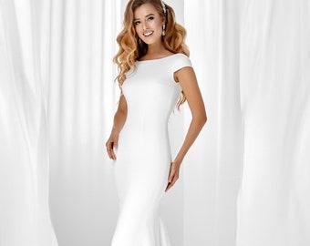 Ivory wedding dress | Etsy