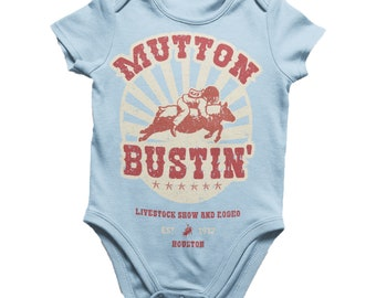 Mutton Bustin Onesie