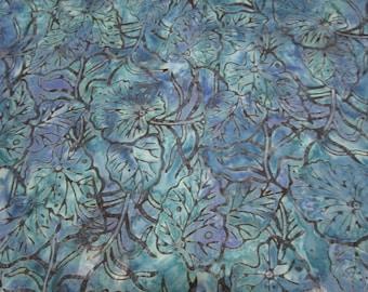 cotton Batik fabric-Timeless Treasures Tonga Batik-Tidal- fabric by  yard or half yard