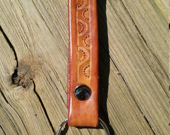 Belt loop Leather Key Chain