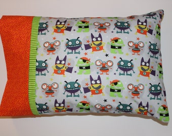 Toddler Pillowcase-Monster Pillowcase