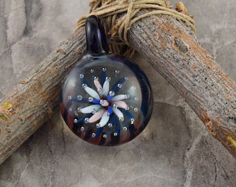 Flowing Flower Heady Pendant