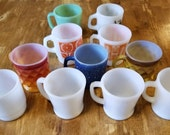 Fire King Coffee Mug Collection 11 in total