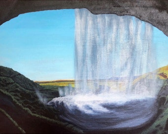 Seljalandsfoss - One of Iceland's Majestic Waterfalls