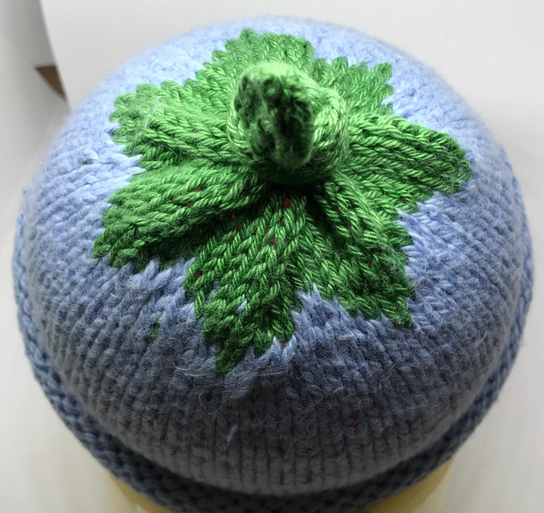 Knitted Baby Fruit Beanie Hats Newborn to 3 months