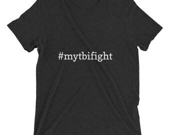 Men's Short Sleeve #MyTBIFight T-shirt